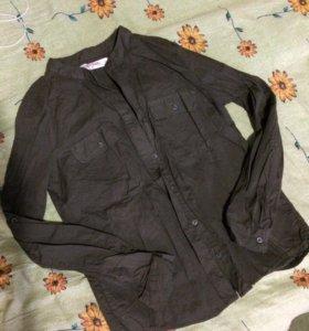 Рубашка из мятой ткани