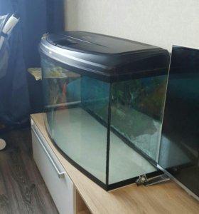 Аквариум 180 литров панарамный
