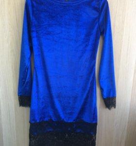 Новое бархатное платье