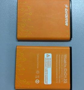 Аккумуляторная батарея Digma iDxD4 3G