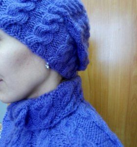 Шапки шарфы свяжу