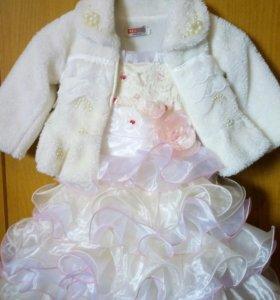 Платье для девочки 1-4 лет.