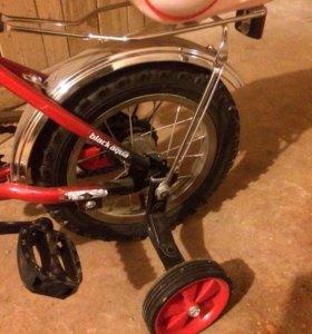 Новый Детский велосипед радиус 12
