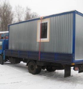 Бытовки, Блок-контейнеры, Модульные здания