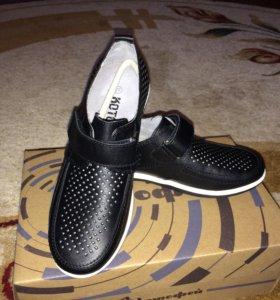 Летние туфли для мальчика