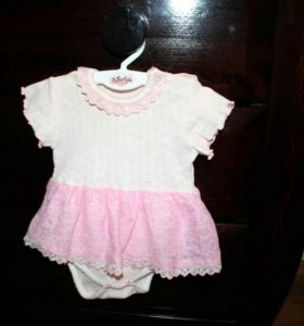 Детское платье 2-6 мес