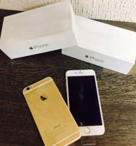 iPhone 6 64 Silver/Gold no touch