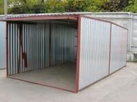 Оцинкованный гараж