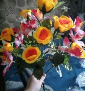 Цветы от 50₽