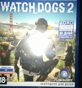 Watch dogs 2 на пс4