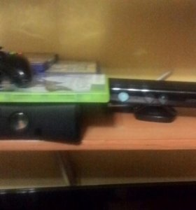 Игровая консоль Xbox360 4 ГБ 8 ИГР+kinect