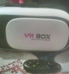 Продам очки vr + джостик (вертуальная реальность)