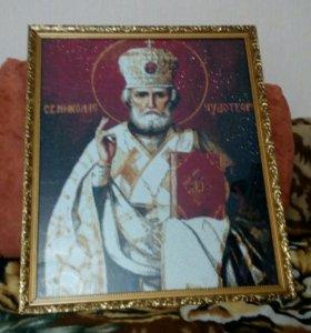 Икона алмазная мозаика