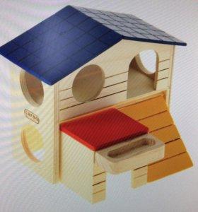 Новый домик для грызунов