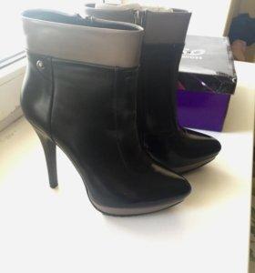 Женские ботинки сапоги 37 р-р