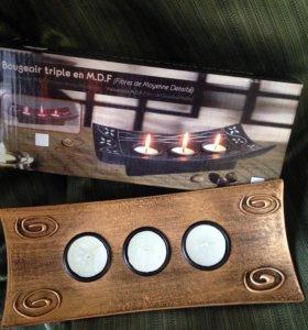 Свечи подставка подсвечник