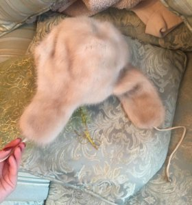 "Норковая шапка-ушанка ""Меха Екатерины""(оригинал)"