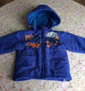 Зимняя куртка на рост 80 см