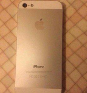 Телефон айфон 5 white 64гб