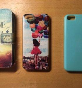 Чехол на iPhone 5, 5c, 5s, SE
