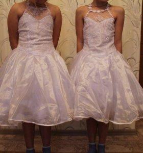 Платья и туфли на 5-7лет