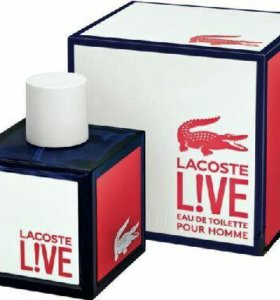 LACOSTE LIVE Eau de Toilette Pour Homme, 100 ml.