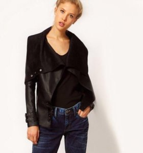 Куртка с откидным воротником