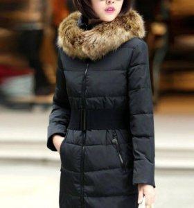Удлиненная куртка с поясом