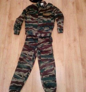 Военная детская форма спецназ(прокат)