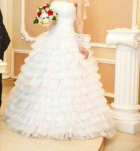 Продаем свадебное платье!