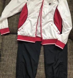 Спортивный костюм FILA р.146+футболка+бейсболка