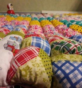 Мягкий объемный коврик