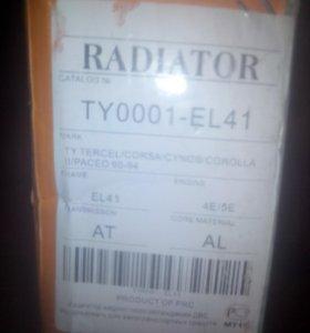 радиатор на тайоту