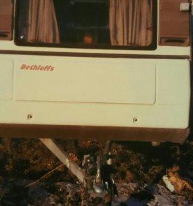 прицеп дача dethleffs 1987 rc2