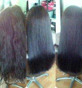 Окрашивание волос стрижки прически