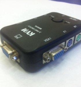 KVM 2-port switch (manual)