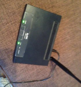Wifi роутер zyxel p600