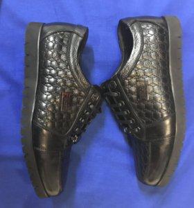 Ботинки нат.кожа Philip Plein