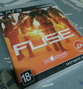 Игра на PS 3. FUSE