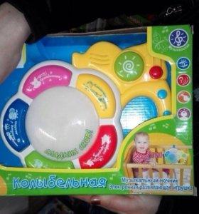 Музыкальная игрушка,колыбельная 0+
