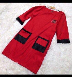 Платье красное Shopoholic