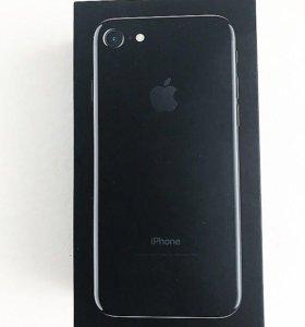 Айфон Apple 7 (128 Гб) jet black ( чёрный оникс )