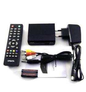 Ресивер цифрового ТВ DVB-T2 Орбита HD-917