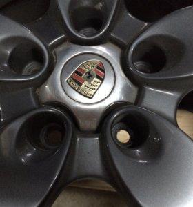 Porsche Cayenne Запасное колесо