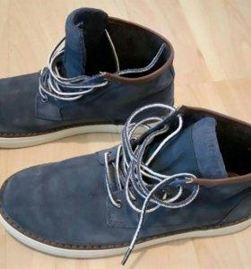 Замшевые ботинки Pullandbear