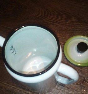 Металлический чайник (Новый)