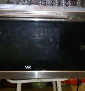 Микроволновая печь с конвекцией и грилем