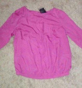Блузка новая на размер 46, 48
