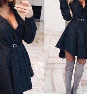 Платье-рубашка (новая!)