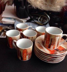 Чашки для эспрессо. Кофейные чашки.